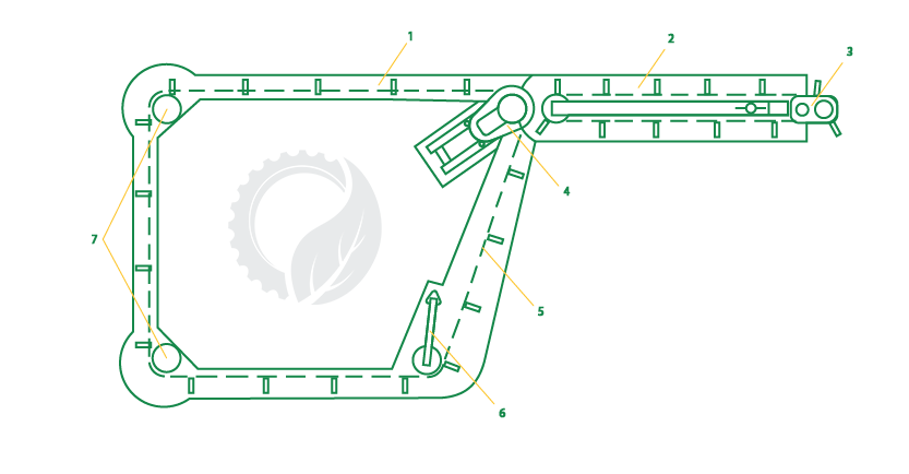Схема скребкового транспортера тсн 160 архангельск конвейер карта